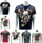 Artful Custom Men T-shirt Present Gift Skull Casual Cotton Men Fashion Comfort