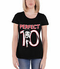 Betty Boop T Shirt Perfect 10 new Official Womens Skinny Fit Black $30.43 AUD