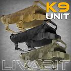 K9 Police Dog LIVABIT Tactical Molle Vest Harness Canine