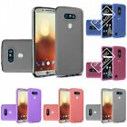 For LG G6 TPU Transparent Rubber Flexible Phone Skin Case Cover Clear Color