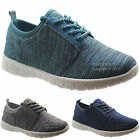 NEW LADIES LACE UP ULTRA LIGHTWEIGHT WOMENS RUNNING TRAINERS COMFORT SHOES SIZES