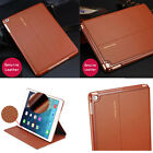 Luxury Genuine Leather Case Smart Auto Sleep Cover Stand For iPad  Pro 12.9""