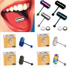 New Cool Vibrating Tongue Bar Ring Stud Body Piercing Jewelry + Batteries FT