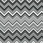 BLACK WHITE & BRIGHT CHEVRON HENRY GLASS FABRIC QUILT FREE OZ POST *