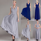 Fashion Women Ladies Sleeveless Evening Cocktail Prom Formal Gowns Party Dress