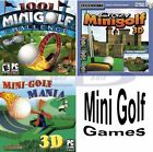 Mini Golf Games Windows PC XP Vista 7 8 10 Sealed New