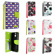For Sprint HTC BOLT Premium Leather Wallet Case Pouch Flip Phone Cover Accessory