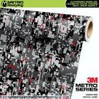DIGITAL URBAN RED Camouflage Vinyl Car Wrap Camo Film Decal Sheet Roll Adhesive