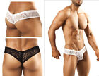 Joe Snyder low rise see thru lace or solid mini booty boy short Brazilian JS22