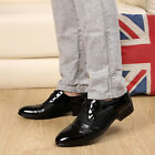 New Men's Dress Formal Shoes Business Casual Lace Up Shoes Black/Brown