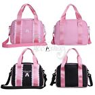 Kids Girls Latin Ballet Dance Bag Lace Zipper Shoulder Tote Bags Child Handbags