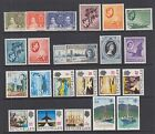 Seychelles Sc 122//745c MLH/MNH. 1937-1998 issues, 24 diff incl 2 cplt sets