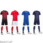 Fashion Men Football Jersey Shorts Training Suit Clothes Set T-shirts Sportswear