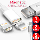 1-5X 2.4A Micro USB Charging Cable Magnetic Adapter Charger For Android Samsung