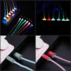 Glow LED Charger Luminescent Charging Date Sync Cable For Samsung S5 S6 S7 S3 S4