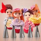 5pcs Icing Piping Nozzles Russian Flower Cake Decoration Decor Tips EN24H01