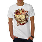 Wellcoda Old School Vehicle Mens T-shirt, Retro Car Graphic Design Printed Tee