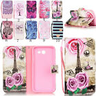 Flip Card PU Leather Wallet + TPU stand Case Cover For Samsung Galaxy A5 J3 2017