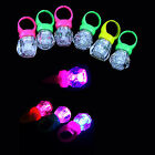 LED Finger Lights Up Toy Party Laser Beam Torch Glow Diamond Shape Children Ring