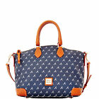 Dooney & Bourke MLB Braves Satchel