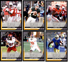 2016 Leaf Draft Football - Gold Parallel Cards - Pick From Pre RC Card #'s 1-90