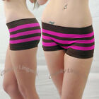 Femina Very Sexy Multi-Colors Striped Seamless No-show Boyshort Panty Brief