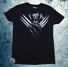 New Marvel Comics X-Men Wolverine Black Mens Vintage T-Shirt