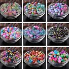 Random Mixed Color Rondelle Faceted Crystal Glass Loose Spacer Beads 4/6/8/10mm