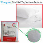 Budget Waterproof Resistant Fitted Soft Top Mattress Protector - ALL SIZES