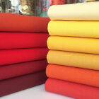 Rainbow Craft 100% cotton fabric blenders per 1/2 metre & 11 piece bundle sunset