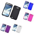 For Samsung Galaxy Note 2 N7100 Hard Snap-On Rubberized Phone Skin Case Cover
