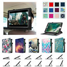 "New iPad 5th Generation 9.7"" 2017 Release Case Stand Cover Car Headrest Mount"