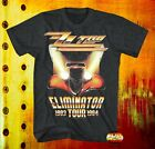 New ZZ Top Eliminator 1983 1984 Tour Concert Rock Mens Vintage Classic T-Shirt image