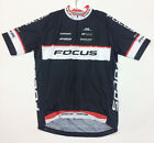 2017 Team Focus CYCLING SHORT SLEEVE JERSEY in Black / Comfort fit Made by GSG