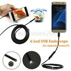 1/2/3.5/5m 5.5mm 6 LED 1.3M High Definition Micro USB Endoscope For Phone Tablet
