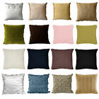 Assorted Solid Color Sofa Bedroom Lounge Square Filled Cushion Pillow