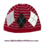 Gymboree NWT Multi-Color ARGYLE PIRATE ADVENTURE BEANIE HAT CAP 3 4 5 6 7 Years