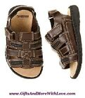 Gymboree NWT Chocolate Brown BEACH BULLDOG FISHERMAN SANDALS DRESS SHOES US 3 7