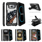 For Samsung Galaxy S8 G950 (2017) Clip Stand Case Sniper
