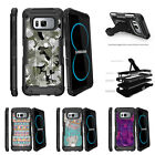 For Samsung Galaxy S8 G950 (2017) Clip Stand Case Swamp Camouflage