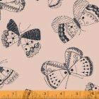 WHISPER BUTTERFLY PINK WINDHAM QUILT SEWING FABRIC Free Oz Post