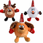 Novelty Spinning Dancing Musical Snowball Reindeer Dog Christmas Decoration