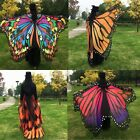 Fashionable Ladies Colorful Long Neck Butterfly Wing Cape Stylish Soft Scarf