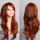 2017 New Style Womens 70cm Long Big Wavy Wig Hair Heat Resistant Cosplay Wig JF4