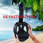 US Swimming 180° Full Face Diving Snorkel Mask Surface Scuba Mask For GoPro