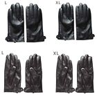 Sparkle Men's Tactical PU Leather Riding Motorcycle Driving Cycling Warm Gloves