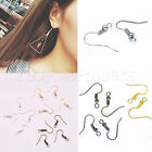Earring Hook 18mm Coil Ear Wire Jewelry Crafts Making Accessory DIY LOT