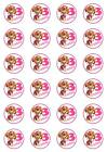 PAW PATROL  SKY * ANY AGE ADDED   Edible Wafer Paper Cupcake Toppers X 24