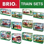 BRIO Wooden Railway Train Sets - Full Range