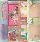 U CHOOSE  Assorted 2 PAGE PREMADE SCRAPBOOK LAYOUTS Girl Teen Baby Girl Woman